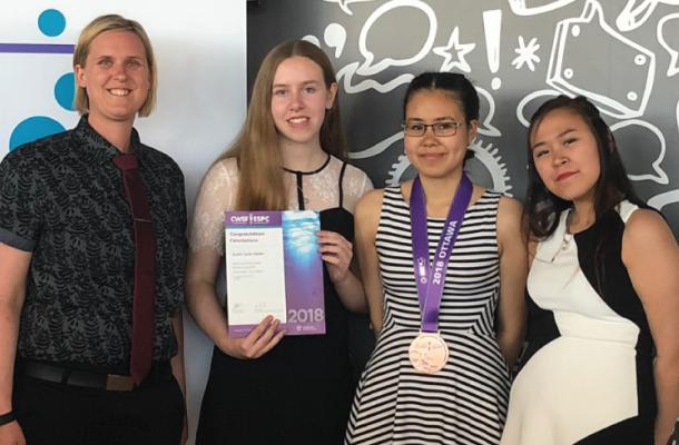 Bronze Medal For Inuvialuk At Canada-Wide Science Fair