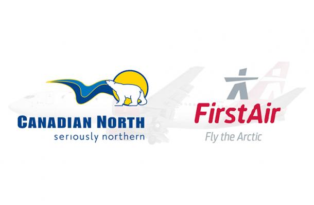 Canadian North and First Air Logos