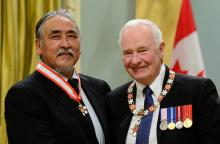 Abraham Anghik Ruben Receives Order of Canada